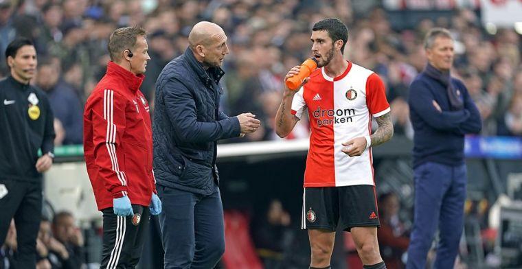 Senesi worstelt bij Feyenoord-vuurdoop: 'Maar het is als bij De Ligt in Turijn'