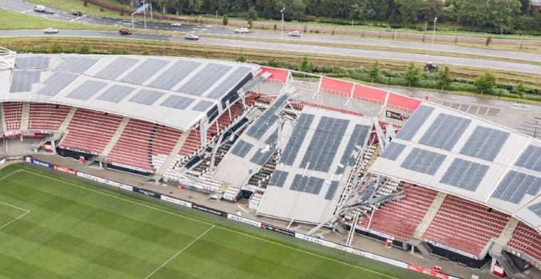 AZ heeft nieuwe update over dak AFAS Stadion: 'Veiligheid voorop'