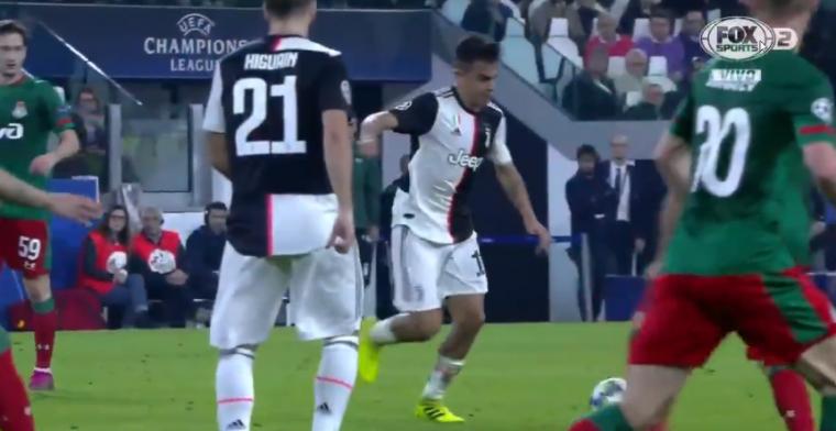 Juventus buigt achterstand razendsnel om: twee goals Dybala in twee minuten