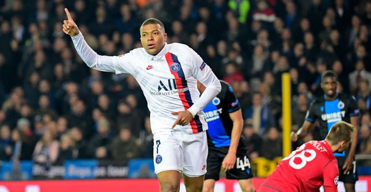 Club Brugge afgemaakt in de grote Mbappé invallersshow