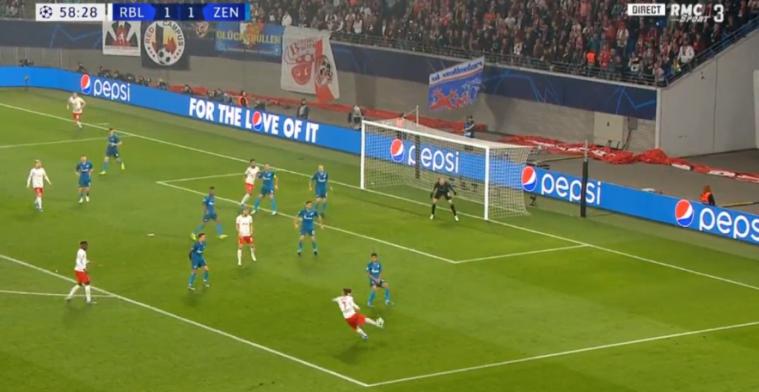Must see: RB Leipzig maakt fenomenaal doelpunt in Champions League