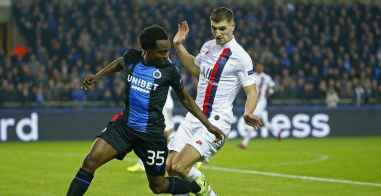 Meunier heeft hartverwarmde boodschap voor supporters van Club Brugge