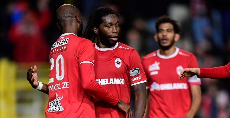 Mbokani koos voor Antwerp, maar: Dan was ik teruggekeerd naar Anderlecht