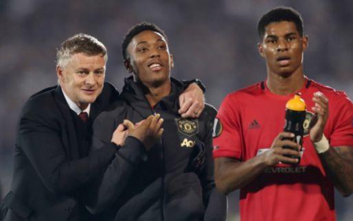 Afbeelding: Weghorst en Kluivert geven zege weg, United blijft AZ voor dankzij Martial
