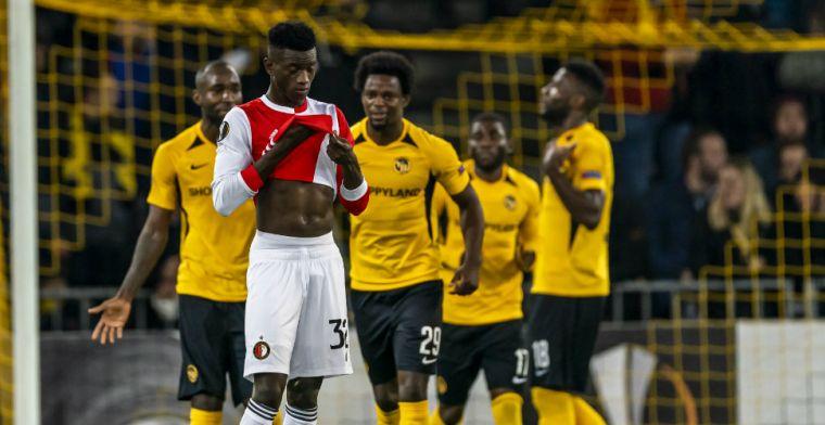 Spelersrapport: Acht (!) onvoldoendes bij dramatisch Feyenoord; Senesi lichtpuntje