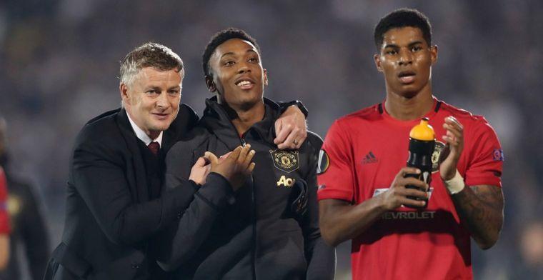 Weghorst en Kluivert geven zege weg, United blijft AZ voor dankzij Martial