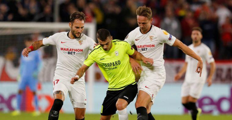 Pépé helpt Arsenal met twee vrije trappen aan winst; De Jong wint met Sevilla