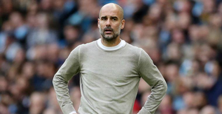 Guardiola stelt persconferentie met arbiters voor: 'Moet het elke keer uitleggen'