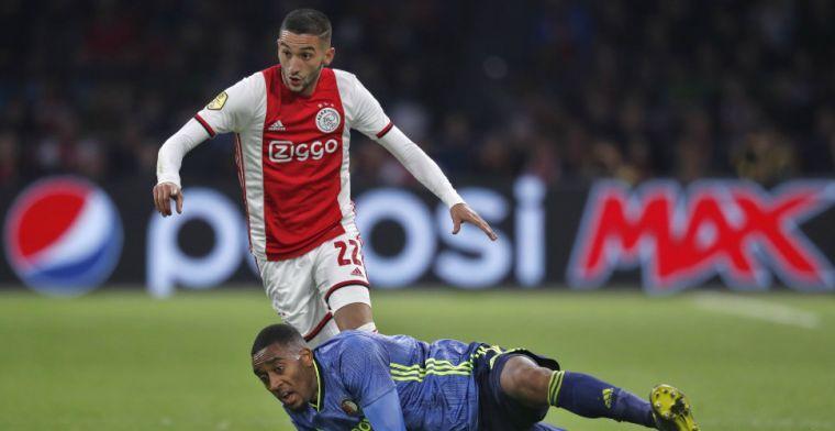 Van der Vaart stuurt oude club bericht over Ziyech: 'Denk dat hij sensatie wordt'