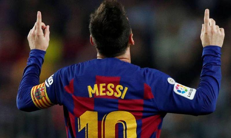 Afbeelding: Uitblinkende Messi bezorgt FC Barcelona drie punten en koppositie