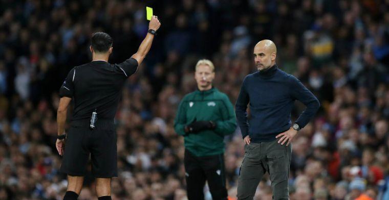 Guardiola geeft toe dat gele kaart Gözübüyük terecht was: 'Bevestiging was lekker'