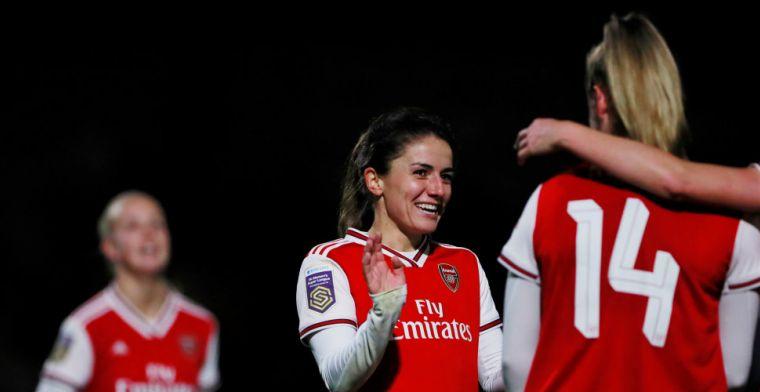 Oranje Leeuwinnen maken zeven van acht (!) goals bij monsterscore Arsenal-dames