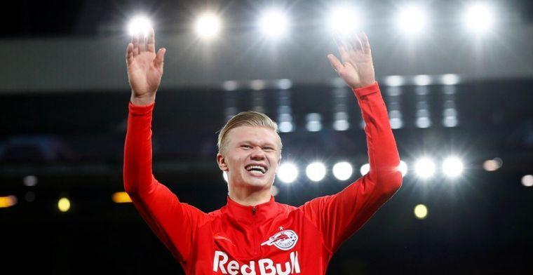 'Twintig topclubs azen op Haland (19), Salzburg wil zestig miljoen euro'