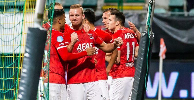 AZ profiteert van misstap PSV en werpt zich op als serieuze concurrent voor Ajax