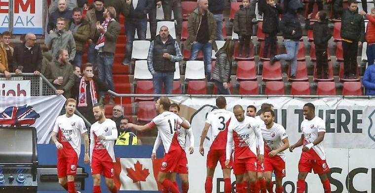FC Utrecht vernedert Fortuna Sittard, prachtig moment voor Makienok