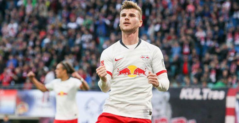 Manchester United wil Liverpool overbieden in strijd om Werner