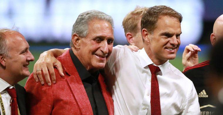 De Boer verovert alsnog Atlanta-harten na onhandige uitspraak: 'Good managing'