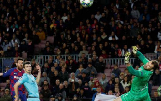 Afbeelding: Onherkenbaar FC Barcelona blameert zich tegen Slavia Praag