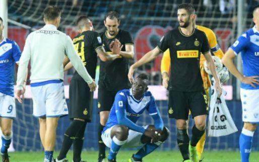 Afbeelding: Hellas-stadion deels dicht na racisme tegen Balotelli; fan krijgt verbod tot 2030