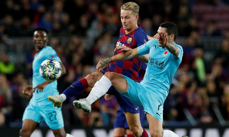 Afbeelding: Spaanse media leven mee met De Jong: 'Dit Barça het tegenovergestelde van Ajax'