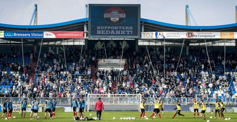 Willem II-fans boycotten uitduel bij Ajax en organiseren'Awayday at Home'