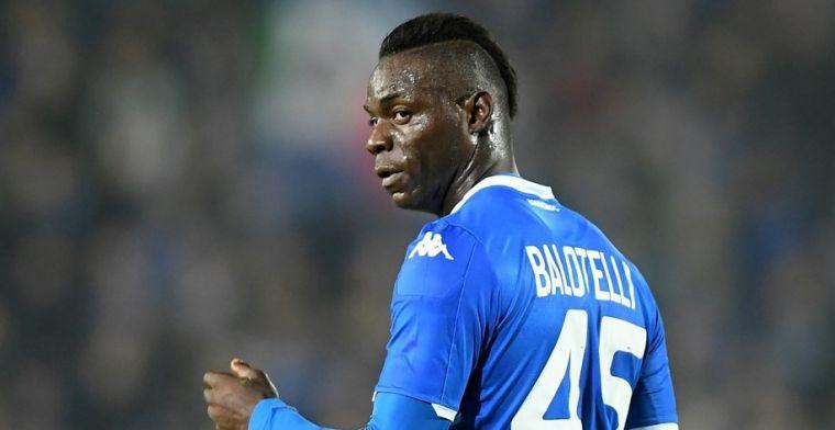 Raadsleden in Verona pakken Balotelli aan:'Onacceptabel, er is niets gebeurd'