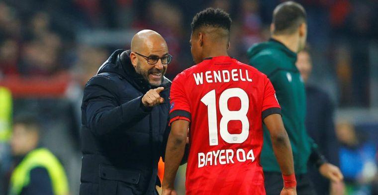 Leverkusen stunt, De Bruyne ziet Walker in doelman veranderen