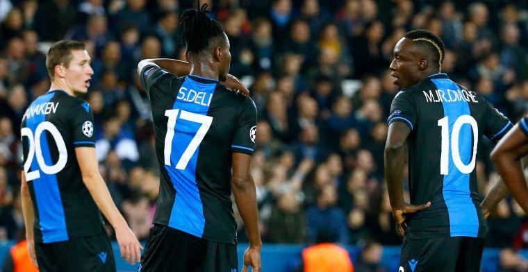 Goal met buitenspelgeur van PSG en egoïsme van Diagne nekken Club Brugge