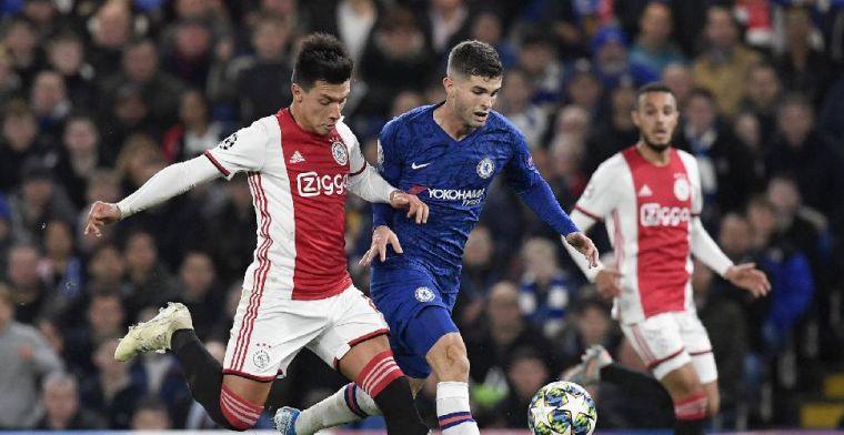 'Ik realiseerde me niet eens dat Ajax twee rode kaarten had gekregen'