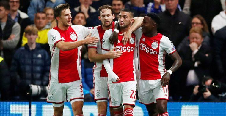 De Mos vol lof over Ajax: 'Flinke transfersom dubbel en dwars terugverdiend'