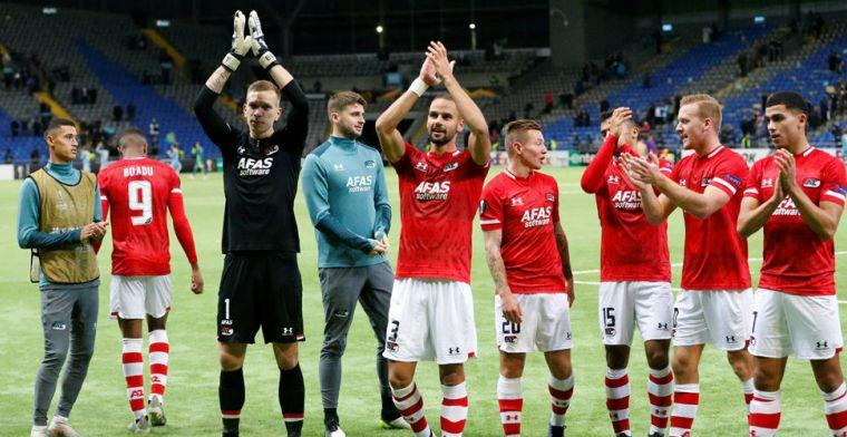 Sprokkelend Nederland dankt AZ en behoudt voorsprong op Oekraïne en Turkije