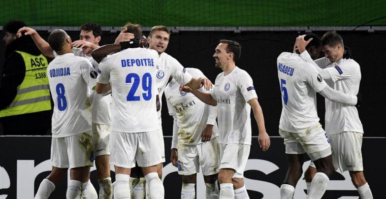 Gent overladen met lof na knappe comeback tegen VfL Wolfsburg