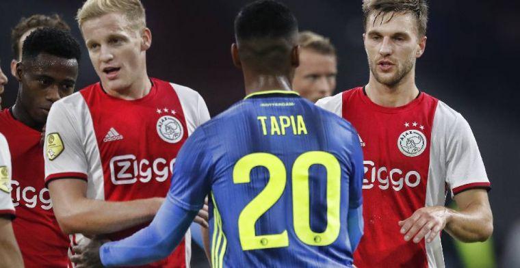 'Tapia wil in Nederland blijven, contract van Feyenoorder loopt na dit seizoen af'