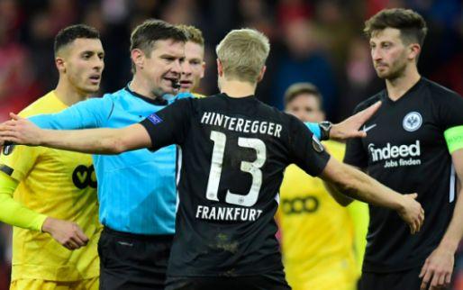 Afbeelding: Vals spelen tegen Frankfurt kan staartje krijgen voor Standard: