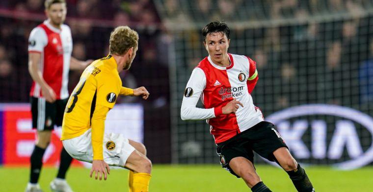 Feyenoord geeft moed niet op: 'Rangers winnen, ziet de wereld er heel anders uit'