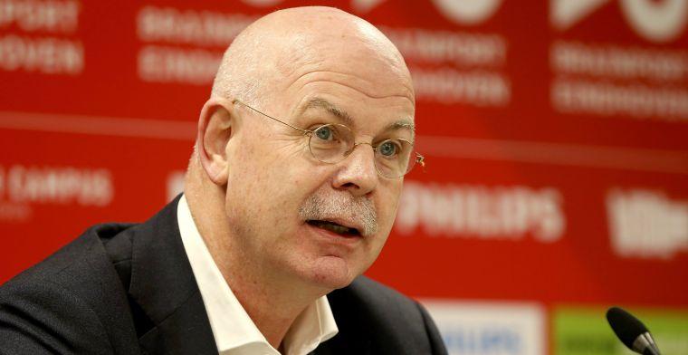 Gerbrands doet oproep aan PSV-achterban: 'Er wordt echt alles aan gedaan'