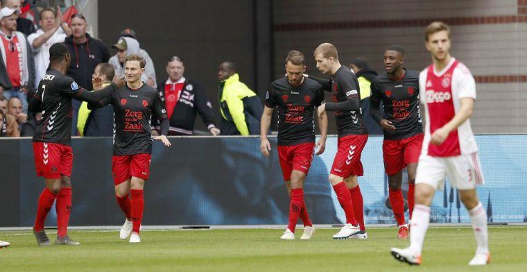 FC Utrecht-fans boycotten Ajax-uit: 'Heerlijk, lekker wegblijven, prima'