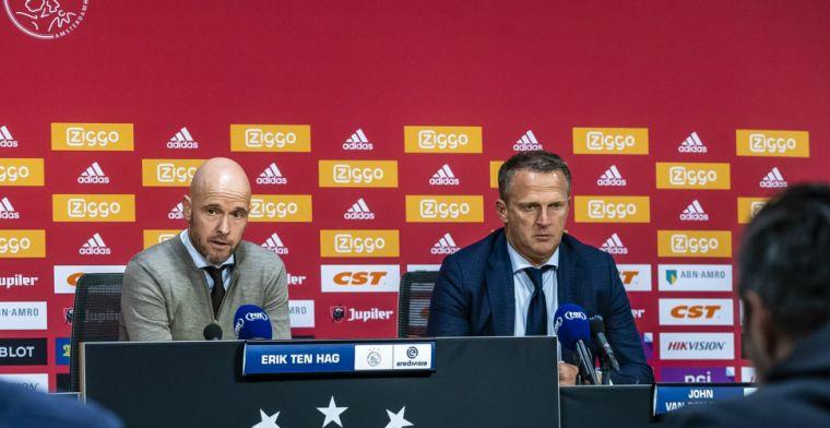 Van den Brom: 'Niet zo moeilijk, je ziet Ajax elke week. Mooi om te zien, eerlijk'