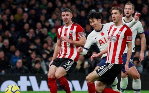 Afbeelding: Belgenloos Tottenham kan ook met hulp van VAR niet winnen van Sheffield