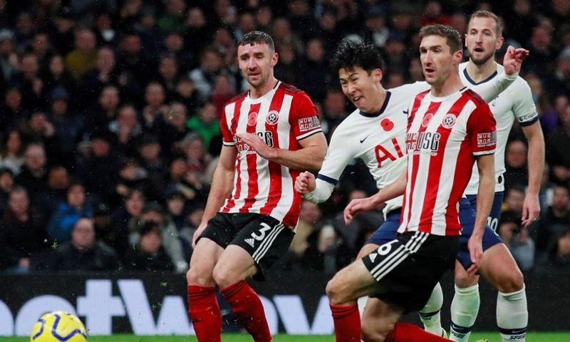 Afbeelding: Dramatisch Tottenham wint ondanks hulp van VAR thuis niet van Sheffield United