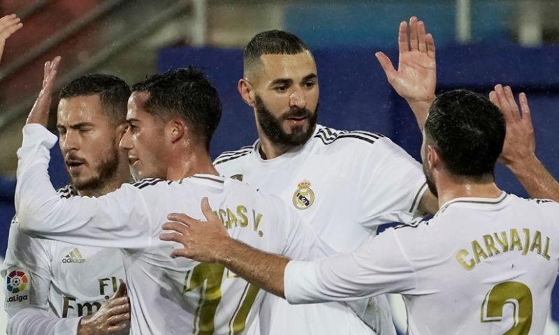 Afbeelding: Real Madrid lijkt los: na Galatasaray ook ruime overwinning bij Eibar