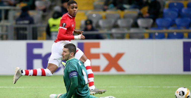 'Boadu wordt niet nerveus van missen voor open doel vanaf drie meter, geloof ik'