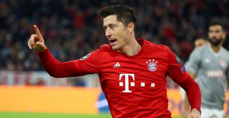 Lewandowski beklaagt zich: 'Een as met alleen Neuer en Lewandowski is te weinig'