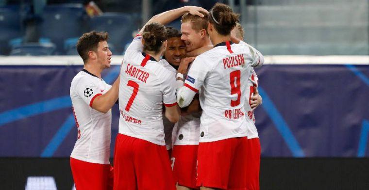 Leipzig meldt zich in Duitse top, duur puntenverlies van Schalke 04