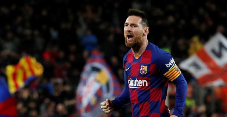 Ontketende Messi leidt Barcelona naar ruime thuiszege op Celta de Vigo