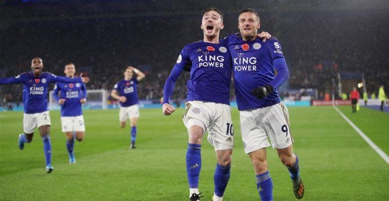 Leicester mag zich weer opmaken voor droomjaar na knappe zege op Arsenal