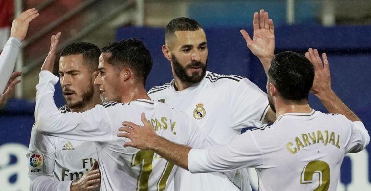 Real Madrid lijkt vorm te vinden en boekt weer ruime zege, mijlpaal Courtois