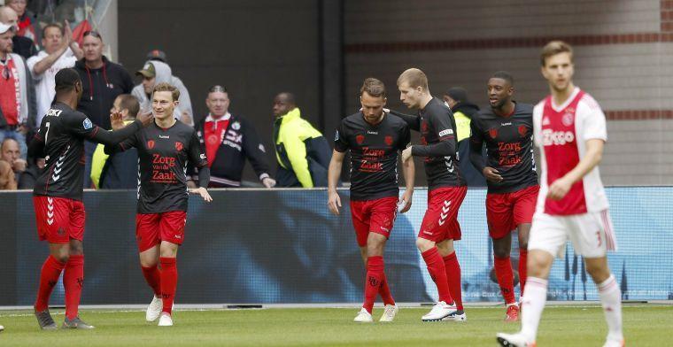 AT5: Demonstratie van Utrecht-fans bij Amsterdamse Stopera verloopt rustig