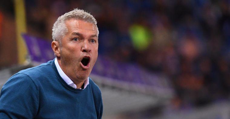 """12 keer puntenverlies geen reden tot ontslag: """"Trainerswissel niet aan de orde"""