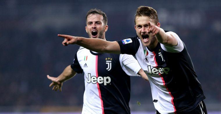 De Ligt herstelt tijdig van blessure en speelt Italiaanse topper vanaf de aftrap